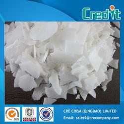 China manufacture white flake magnesium chloride price 47% yellow / white flake