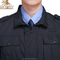 excellence autumn winter security guard long sleeve clothes overall suits uniform