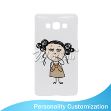 Light Weight White Blank Frosted Plastic 3D Sublimation Printing Mobile Phone Case For Samsung Galaxy A7