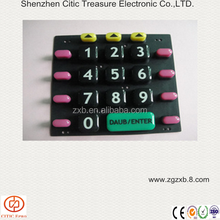silicone rubber membrane switch button