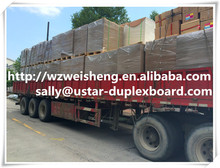 Wood Pulp Material and Printing and packaging Use chip boards,shirt packing,book binding paper,Papel de regalo
