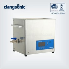 10.8L bench top chemical ultrasonic cleaner chip ultrasonic cleaning machine