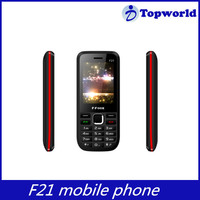 2.4 inch screen Spreadtrum 6531D BL 5C battery support OEM Dual sim F21 mobile phone