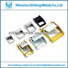 liga de zinco cinto fivela componentes