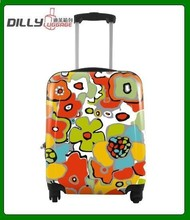 lightweight abs pc travel luggage,carrying case 18'',suitcase