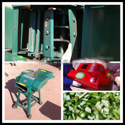 Farm use Poultry feed processing grass chopper/ mini hay cutter