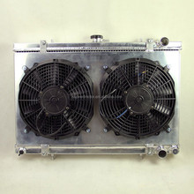Fits 1989-1993 NISSAN SKYLINE R32 GTS GTR 50mm HIGH CAPACITY engine cooling radiator