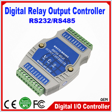 High Speed 8 channel RS485 Photoelectric Isolation Digital Relay Controller