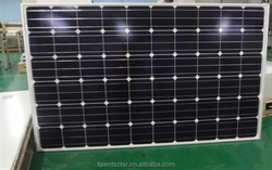 2016 China factory supplier 270W solar panel mono solar panel with high efficiency