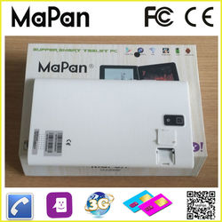 1024x600 tablet 7 inch touch screen 3g tablet pc, dual core 3g tablet pc wifi gps