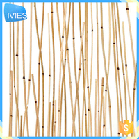 New restaurant decoration material resin straw panel board