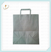 Craft paper bag for garment