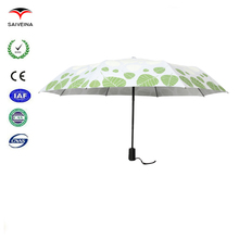 China manufacturing company hot new products for 2015 outside full printed fairy ladies folding umbrella