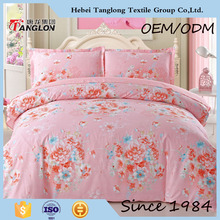 Nantong supplier China bedsheets wholesale famous brand bedsheets the latest new design beautiful bedsheets