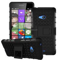 2016 Original Slim armor kickstand pc tpu hard cover phone case for microsoft lumia 540 wholesale