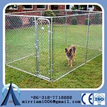 Cheap galvanized big metal dog kennel/welded wire dog kennel/big welded dog cage