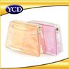 2015 Whosale Professional Custom Zipper Waterproof Pvc Clear Cosmetic Bag