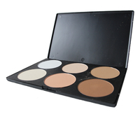 Wholesale 1#6 Color Blusher Makeup Palette Foundation fashion concealer Powder Contour Cosmetic Makeup Set Dlove