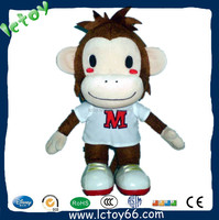 Promotional Cute long arms and legs monkey plush toy