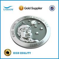 custom engraved silver coin