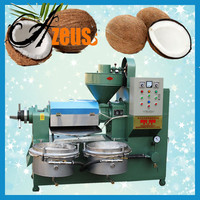 2015 top sale electric virgin coconut oil extracting machine for coconut oil processing