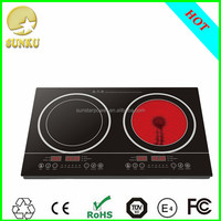 2200W Household Electric Induction travel rice cooker Cooker solar microcomputer induction cooker