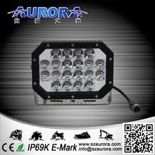 AURORA 6inch 60w quad led light hid spot lights for 4wd