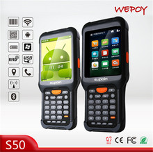 Hot OEM WINCE WIFI GSM Bluetooth laser waterproof shockproof dustproof cell phone manufacturer