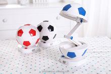 Hot selling product football foldable 30 LED rechargeable led desk lamp