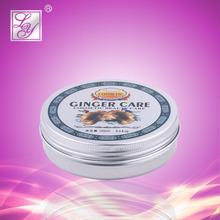 fuerte de jengibre para el cabello de la humedad de las marcas de cera