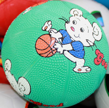 Economic new coming supply cheap rubber basketball