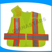 oem or odm hi visibility cheap security sleeveless work vest