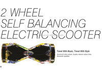 2 WHEEL SELF-BALANCE ELECTRIC STANDING SCOOTER