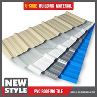 pvc roofing gutter half round shape for sunshine house