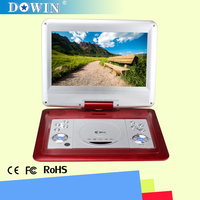 manufacture wholesale guality cheap flat screen HD smart USB SD 7-16 inch Screen Portable DVD Player with TV/FM/Game/SD/USB/VGA