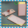 Tenchen foldable stand phone case , the best Magnetic hard case with stand for leather iphone case