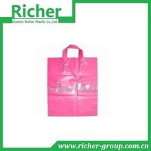 Soft Loop Handle Plastic Bag Shopping Bag Customized Plastic Bag
