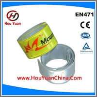 CE EN 13356 Standard Security Armband, Colourful PVC Crystal can be customized,Packing by Blister box,Manufactory Supply