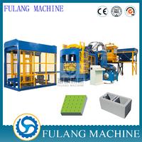 Automatic brick/block making machine QTF8-15 concrete/cement sand brick making machine for sale