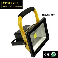 10W LED Rechargeable portable light Flood light from zhongshan factory