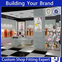 Custom made super u high quality retail fabric store equipment