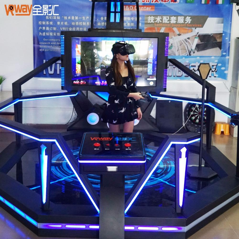 9d VR guerra fuego tiro 360 grados lucha simulador HTC vive 9d VR pie simulador de tiro