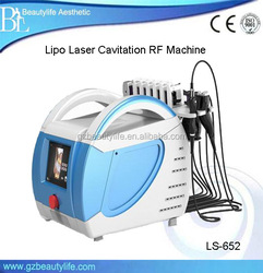 Fat Burning Wrinkle Remove Lipolaser RF Lipo Laser Machine/Lipolaser RF Facial Reshape Cavitation Beauty Equipment