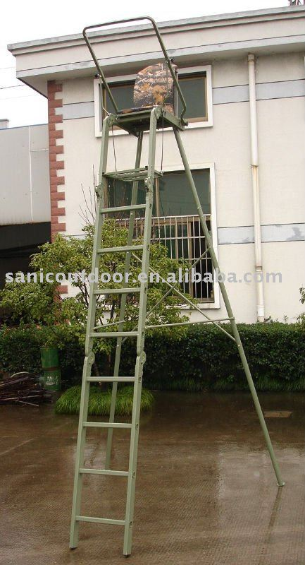 Hunting tree stand freestanding hunting tree ladder for Free tree stand