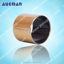 SF-1 PTFE bearing bushes, sliding bearing teflon bush, steel backed bronze bushing