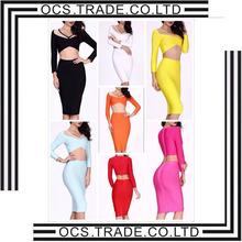 The new 2015 tropical print wrap halter sleeveless dress