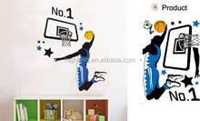 Basketball Star Wall Sticker