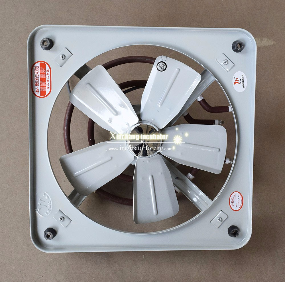 80W circulation fan face