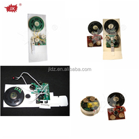 Custom recording sound module,2014 hot sale recordable chips programmer for greeting cards