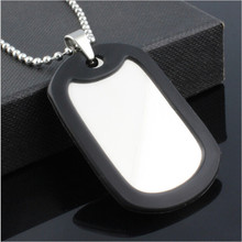 Yiwu Aceon Customized Military Dog tag Pet ID Silencers stainless steel jewelry pendants & necklaces for men